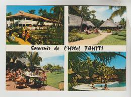 CPSM TAHITI (Polynésie Française) - Souvenir De L'Hôtel TAHITI  ; 4 Vues - Polinesia Francese