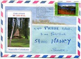 Nouvelle-Calédonie-1987- Yt 526 Sur Lettre Illustrée Faré - Briefe U. Dokumente