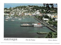 97 - MARTINIQUE - Fort De France - Le Front De Mer - Ed. Munkaprint N°022 - 1995 - Voir état - Fort De France