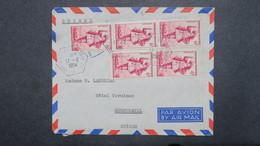 Lettre Du Porte Avions Bois Belleau Aout 1954 ( Evacuation Des Réfugiés Du Tonkin ) Pour Neufchatel Suisse - War Of Indo-China / Vietnam
