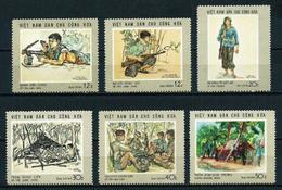 Vietnam Del Norte Nº 635/40 Nuevo - Vietnam
