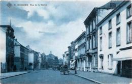 Belgique - Soignies - Rue De La Station - Edit. S.B.P. N° 9 - Soignies