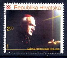CROATIA 2002 Cardinal Kuharic MNH / **.  Michel 606 - Croatie