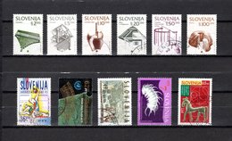 Eslovenia   1993  .-  Y&T  Nº   49/54-55-56-57-58-62 - Eslovenia