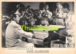 CPA JAZZ CLUB PORTRAIT DUKE ELLINGTON - Musique Et Musiciens