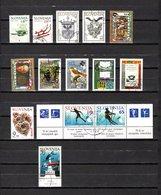 Eslovenia   1993-94  .-  Y&T  Nº   63/64-65/66-67/68-69/72-73-74/75-76 - Eslovenia