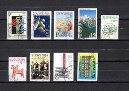 Eslovenia   1994  .-  Y&T  Nº   77-80-81-82-83/84-85-86-87 - Eslovenia