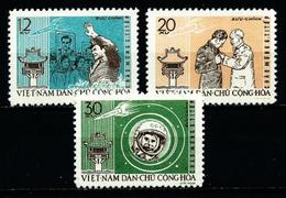 Vietnam Del Norte Nº 278/80 Nuevo - Vietnam