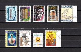 Eslovenia   1994-95  .-  Y&T  Nº   88-89/90-93/94-95-96-97-98 - Eslovenia