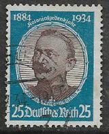 Germany 1934, Von Wissmann 25pf Used - Used Stamps