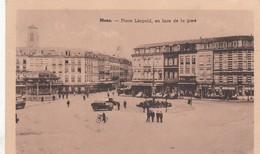 MONS / PLACE LEOPOLD EN FACE DE LA GARE - Mons
