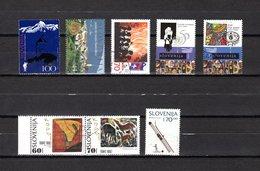 Eslovenia   1995  .-  Y&T  Nº   112-113-114-115/116-117/118-119 - Eslovenia