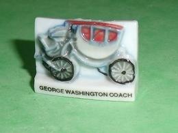 Fèves / Sports : George Washinton Coach , Voiture   T14 - Sport