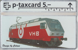 SUISSE - PHONE CARD - TAXCARD-PRIVÉE ***  TRAIN & LOCO - VHB *** - Suisse