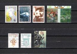 Eslovenia   1996  .-  Y&T  Nº   131-132/133-134/135-137/138-139 - Eslovenia