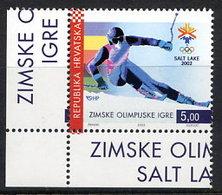 CROATIA 2002 Winter Olympic Games MNH / **.  Michel 603 - Croatie