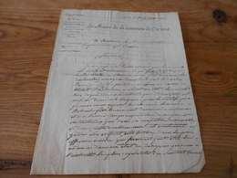 2 - Département Du Var, Arrondissement De Brignoles , Le Maire De La Commune De Correns, 24 Juillet 1831 - Historische Documenten