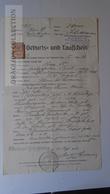 S0513  Österreich -Geburst Und Taufschein - Schottwien -Neunkirchen 1934 / 1 Schilling Revenue Stamp - Nacimiento & Bautizo