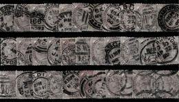 TP N° 73 En 33 Exemplaires Pourétudes Affranchissement - Used Stamps