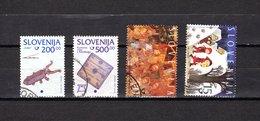 Eslovenia   1998  .-  Y&T  Nº   220/221-222-223 - Eslovenia