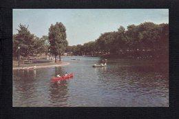 Canada / Québec / Etang Du Parc Lafontaine / Lafontaine Park Lake.(voir Texte Au Verso ) - Non Classés