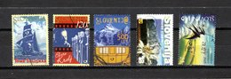 Eslovenia   2000  .-  Y&T  Nº   261-262-263-264-265 - Eslovenia