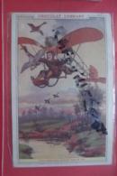 Cp Pub Chocolat Lombard Une Chasse Aux Canards - Werbepostkarten