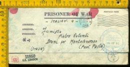 Militare Seconda Guerra Franchigia Prigionieri America USA Broni Monteveneroso Pavia - 1900-44 Vittorio Emanuele III