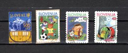 Eslovenia   2000  .-  Y&T  Nº   263-266/268 - Eslovenia
