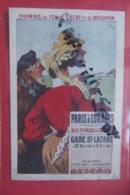 Cp Pub Chemins De Fer De L'etat De Brighton - Werbepostkarten