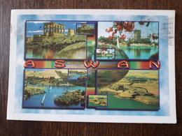 L21/870 Egypte. Aswan. ( Timbre Au Dos ) - Aswan