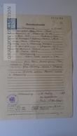 S0514  Österreich - Heiratsurkunde-Schladming  1947 / 1 Schilling Revenue Stamp  (Radl / Nowotny) Gloggnitz - Nacimiento & Bautizo