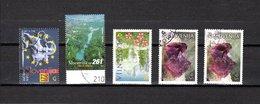 Eslovenia   2001  .-  Y&T  Nº   316-317-318-319/320 - Eslovenia