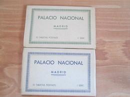 Palacio Nacional Madrid . 2 Carnets - Madrid