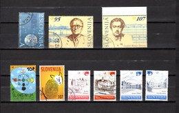 Eslovenia   2001  .-  Y&T  Nº   333-334/335-336-337-338/341 - Eslovenia