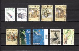 Eslovenia   2002  .-  Y&T  Nº   353-354-356-358/360-361/362-363-364 - Eslovenia