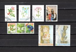 Eslovenia   2002  .-  Y&T  Nº   365/367-369-370/372-373/374 - Eslovenia