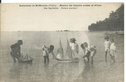 **  SAINT MAURICE   (  SUISSE )   SCOLASTICAT ....MISSIONS DES CAPUCINS SUISSES EN AFRIQUE. ILES SEYCHELLES - VS Valais