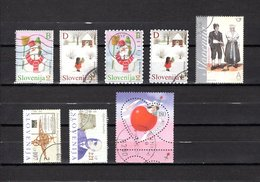 Eslovenia   2002-2003  .-  Y&T  Nº   375/378-380-381/382-383 - Eslovenia