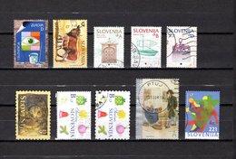 Eslovenia   2003-2004  .-  Y&T  Nº   391-402-405/406-408-412-413-414-415-420 - Eslovenia
