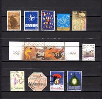 Eslovenia   2004  .-  Y&T  Nº   428-430-431-432-433-434/435-439-444-445-449/450 - Eslovenia