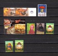 Eslovenia   2004-2005  .-  Y&T  Nº   434/435-452-453/454-456-457-461/462-463 - Eslovenia