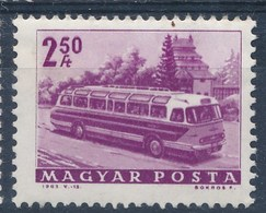 Ungarn 1963 Mi. 1927 + 1931 + 1936 A Postfr. Bus Obus Mavaut-Omnibus - Bussen