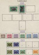 13588 RUANDA-URUNDI Collection Vendue Par Page  Taxe 1, 3, 9/13a, 15/7 19  ° 1948  B/TB - Taxe: Neufs