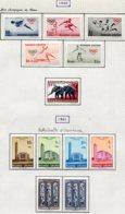 13587 RUANDA-URUNDI Collection Vendue Par Page N° 219/23, 224, 225/30  */° 1960-61  TB/TTB - Ruanda-Urundi