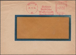 Allemagne 1934. EMA, Empreinte De Machine à Affranchir. Berliner Wasserwerke, Distribution De L'eau à Berlin - Other