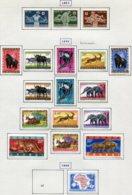 13586 RUANDA-URUNDI Collection Vendue Par Page N° 202/4, 205/16B, 218  */° 1957-60  TB/TTB - Ruanda-Urundi