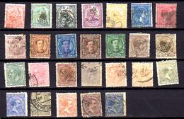 Espagne 1873-99, Allégorie République, Justice, Alphonse XII, Alphonse XIII, Entre 131 Et 196, Cote 148 € - 1872-73 Reino: Amadeo I