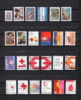 Eslovenia   1992-2003  .-  Y&T  Nº   1-2-3-4-5-6-7-8-9-11-12-13-14-15-16/17-18-18A-18C-21-22-23-24-25   Beneficencia - Eslovenia