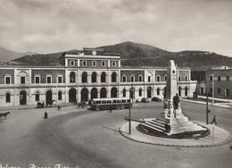 Cartolina - Postcard / Non Viaggiata - Unsent /  Salerno, Piazza Ferrovia.   ( Gran Formato) - Salerno